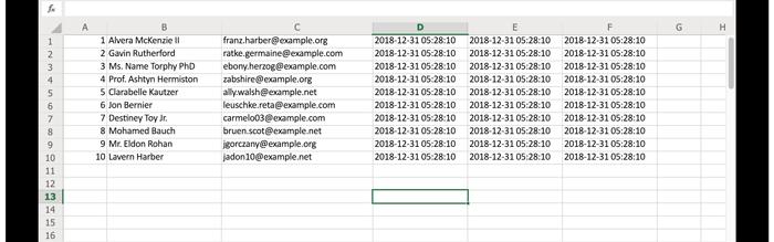 Laravel Excelを作成したExcelファイル