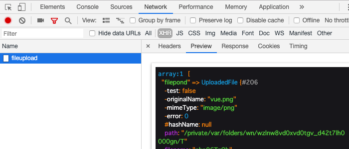 Larevel+vue js filepondで簡単ファイルアップロード | アールエフェクト