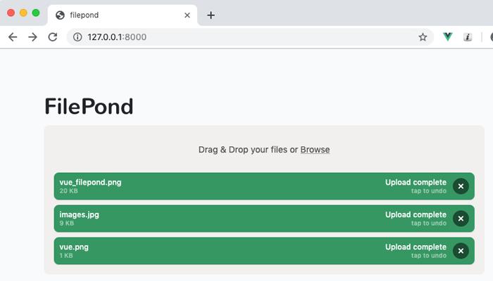 複数ファイルを一括アップロード