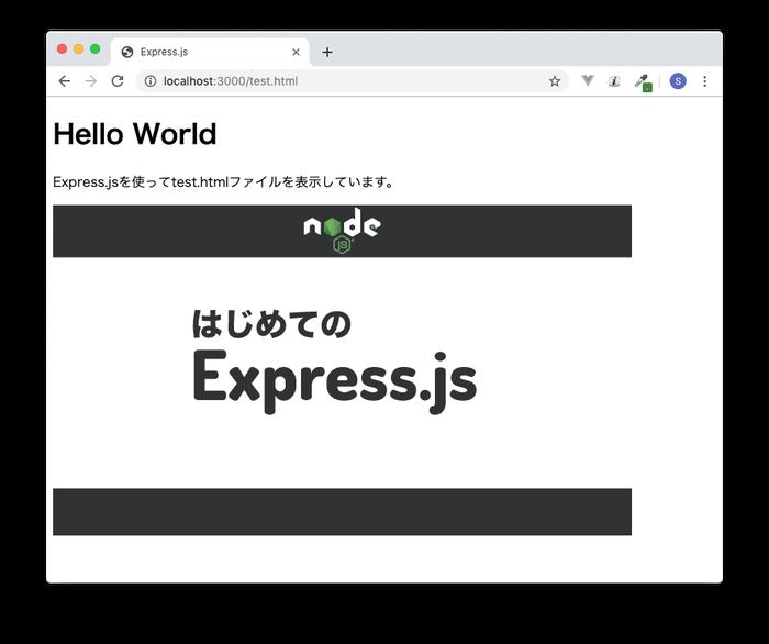test.htmlから画像を読み込む