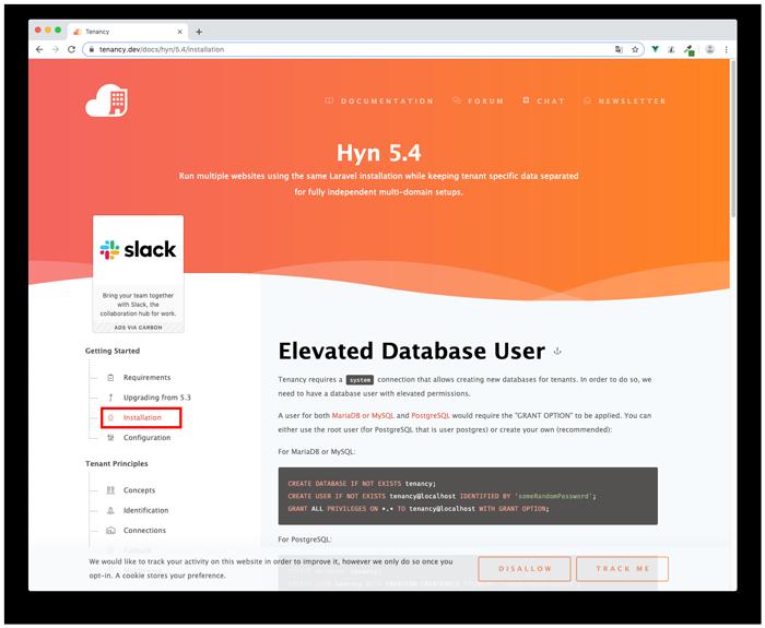 Hyn5.4 Installation