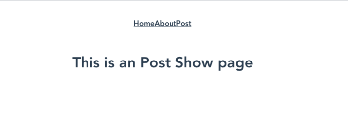 PageShow.vueの内容が表示される