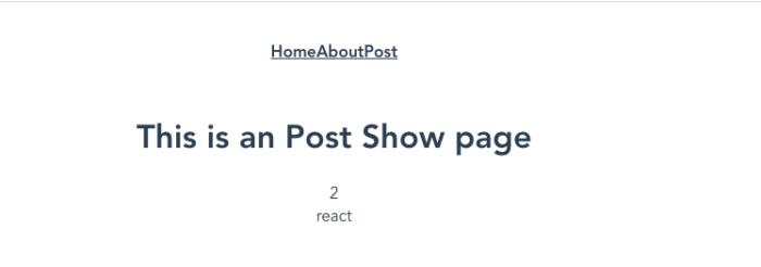 propsを利用してページを表示