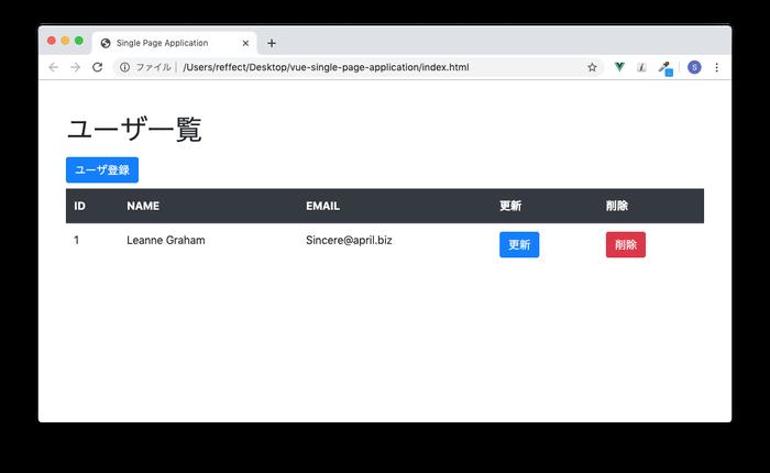 ID2, ID3のユーザ情報を削除