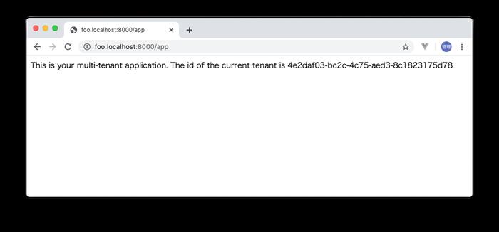 foo.localhostへのアクセス