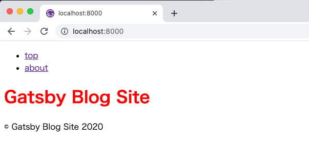 CSS適用の確認