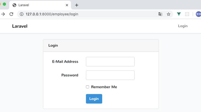 Forget Your Passwordのリンクも消える