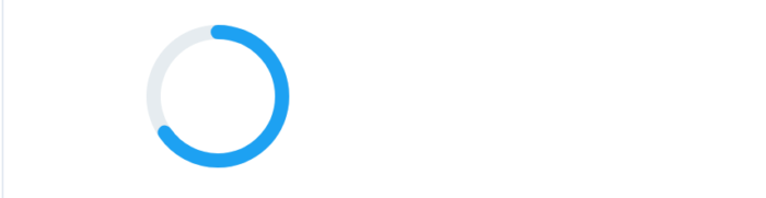 TwitterでのSVGを利用したプログレスバー